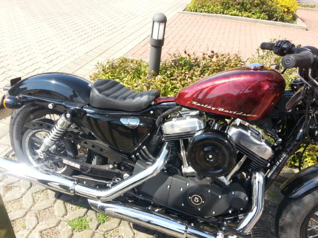 Harley Sportster Forty Eight mit Biltwell Sporty-8