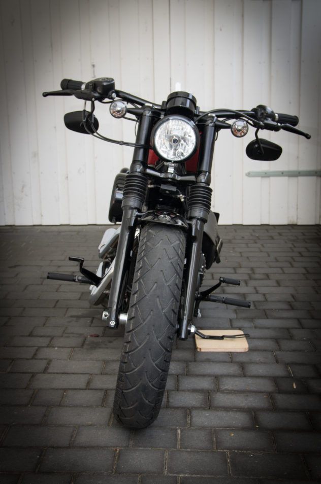 Custom Sportster Forty Eight von vorne