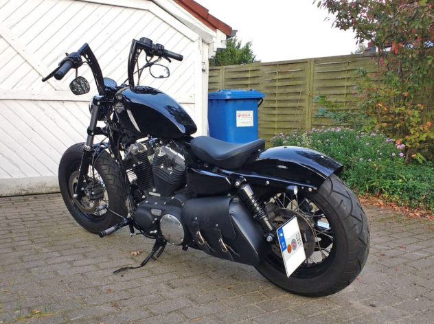 Forty Eight mit Bonanza Lenker