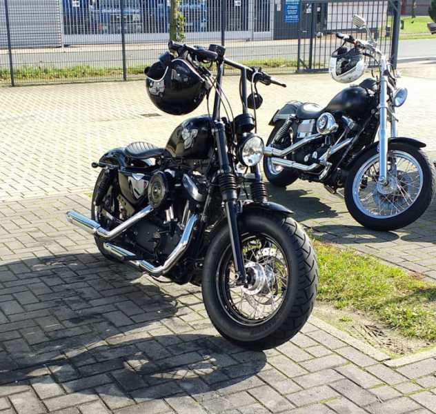 Forty Eight mit Old Skool Lenker